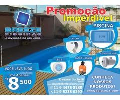 www.breezepiscinas.com Separou as Melhores Ofertas em Piscinas de Fibra. CONFIRA!