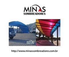 Minas Sombreadores | Para Garagem | Condomínio | Residência | Carros