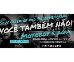 Motoboy São Paulo - Moto Help Entregas