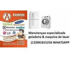 Técnico maquina de lavar geladeira Taubate