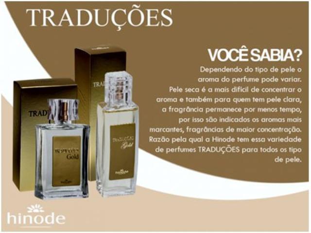 Perfume Hinode Traduções Gold – Perfume Importado