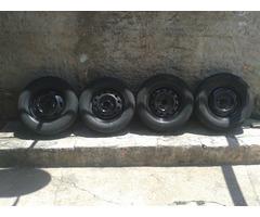 Rodas de ferro boca de fogao aro 13