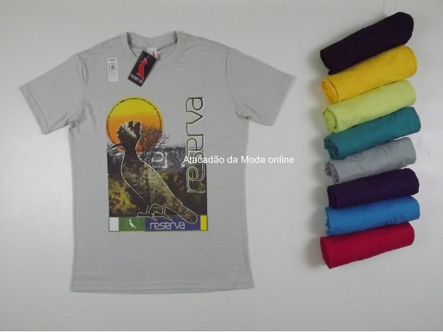 Camisa Estampadas Kit 20